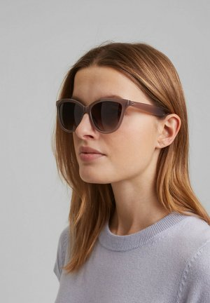 MIT FARBVERLAUF - Sonnenbrille - beige