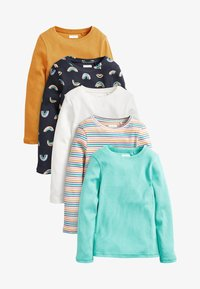 Next - 5 PACK - Long sleeved top - white - 0