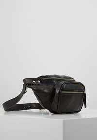 Urban Classics - SHOULDER BAG - Ledvinka - black - 3