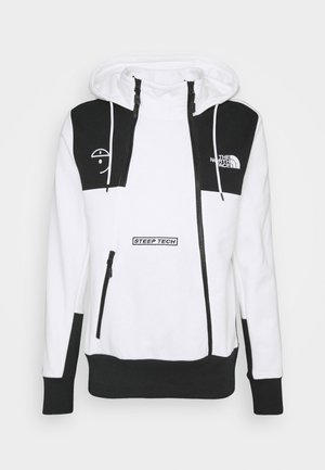 STEEP TECH LOGO HOODIE UNISEX  - Bluza z kapturem - white