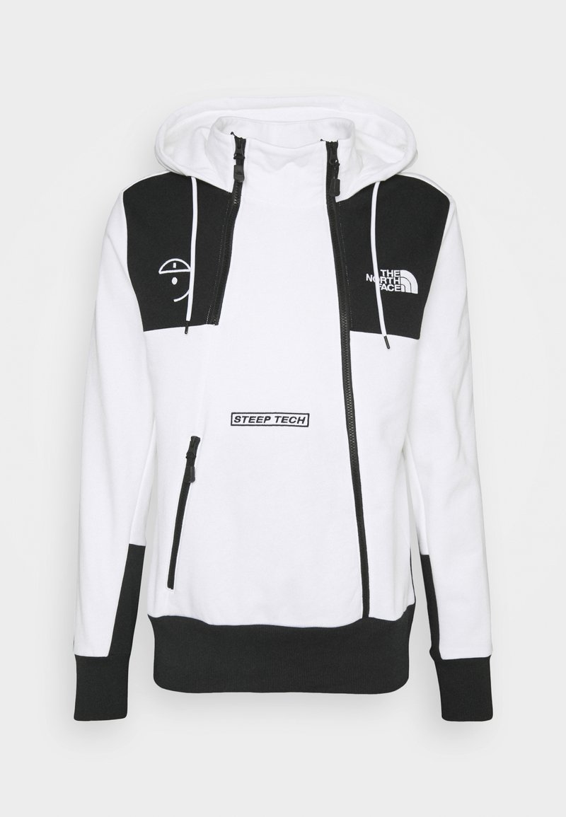 The North Face - STEEP TECH LOGO HOODIE UNISEX  - Mikina skapucí - white