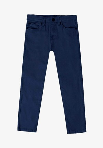 Džíny Straight Fit - azul marino
