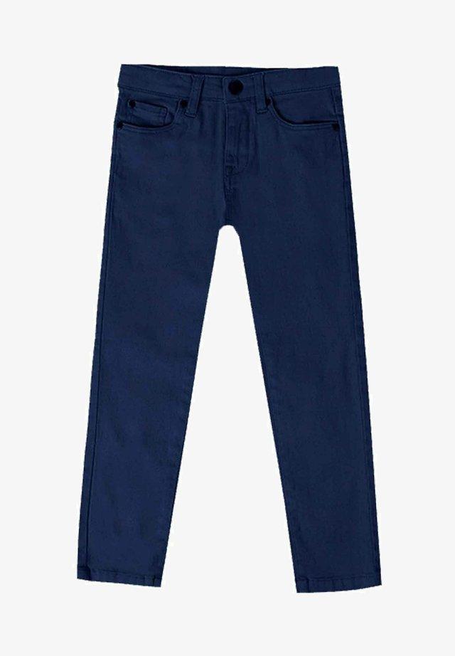 Straight leg jeans - azul marino