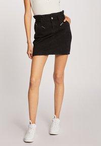 Morgan - Denim skirt - black - 0