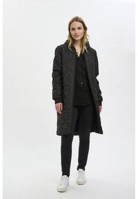 Kaffe - PTILLA - Winter coat - black deep - 1