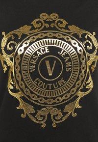 Versace Jeans Couture - Vestito di maglina - black-gold - 7