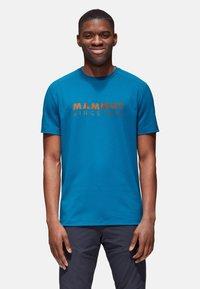 Mammut - TROVAT  - Print T-shirt - sapphire prt1 - 1
