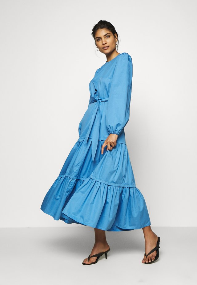 ANKLELENGHT - Robe longue - sea blue