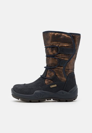 Winter boots - notte/bronzo