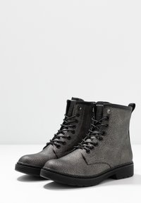 Mexx - DANINE - Lace-up ankle boots - gunmetal - 4