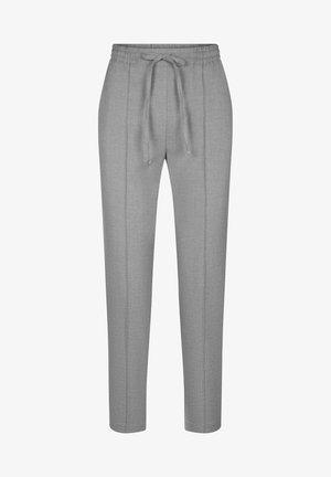 Trousers - hellgrau meliert