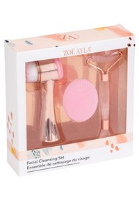 ZOË AYLA - FACIAL CLEANER, FACIAL BRUSH AND ROSE QUARTZ MASSAGER - Skincare set - mix