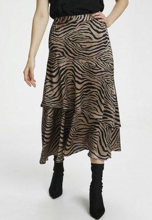 CUENNE - A-line skirt - chanterelle