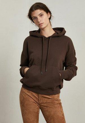 MARTY - Hoodie - chocolate brown