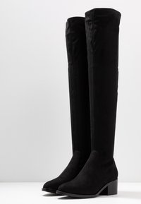 Steve Madden - GEORGETTE - Over-the-knee boots - black - 4