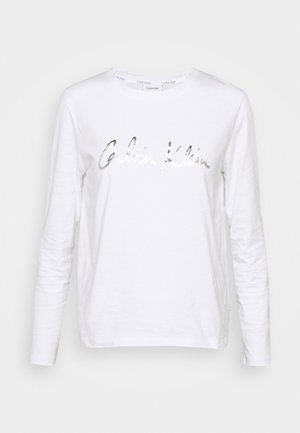 SIGNATURE - Long sleeved top - bright white