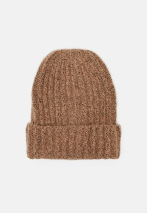 PCPYRON STRUCTURED HOOD  - Beanie - natural