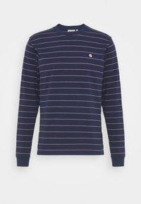 Carhartt WIP - DENTON - Long sleeved top - space/malaga - 4