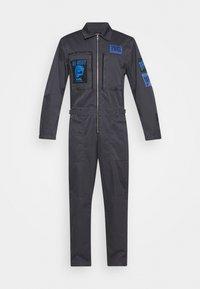 Diesel - P-LARRY TROUSERS UNISEX - Jumpsuit - grey blue - 5