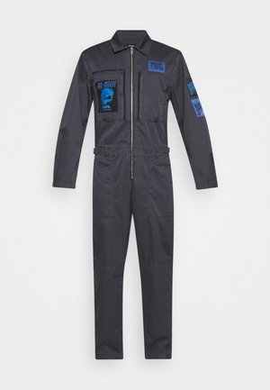 P-LARRY TROUSERS UNISEX - Jumpsuit - grey blue