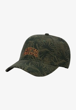 Cap - olive/sunset
