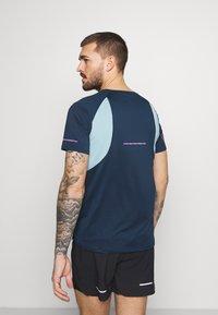 ASICS - VISIBILITY - Print T-shirt - french blue/smoke blue - 2