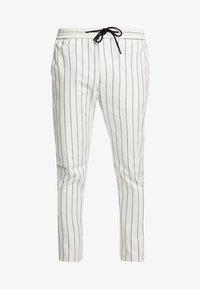 Topman - WHYATT - Trousers - cream - 4