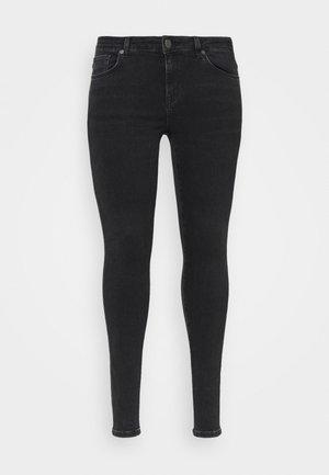 SLFINA WASH - Jeans Skinny Fit - black denim