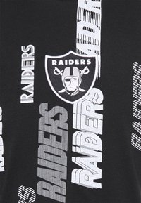 New Era - NFL LAS VEGAS RAIDERS RETRO SPORTS TEE - Print T-shirt - black - 5