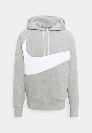 Sweatshirt - grey heather/white