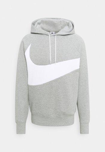 Felpa - grey heather/white