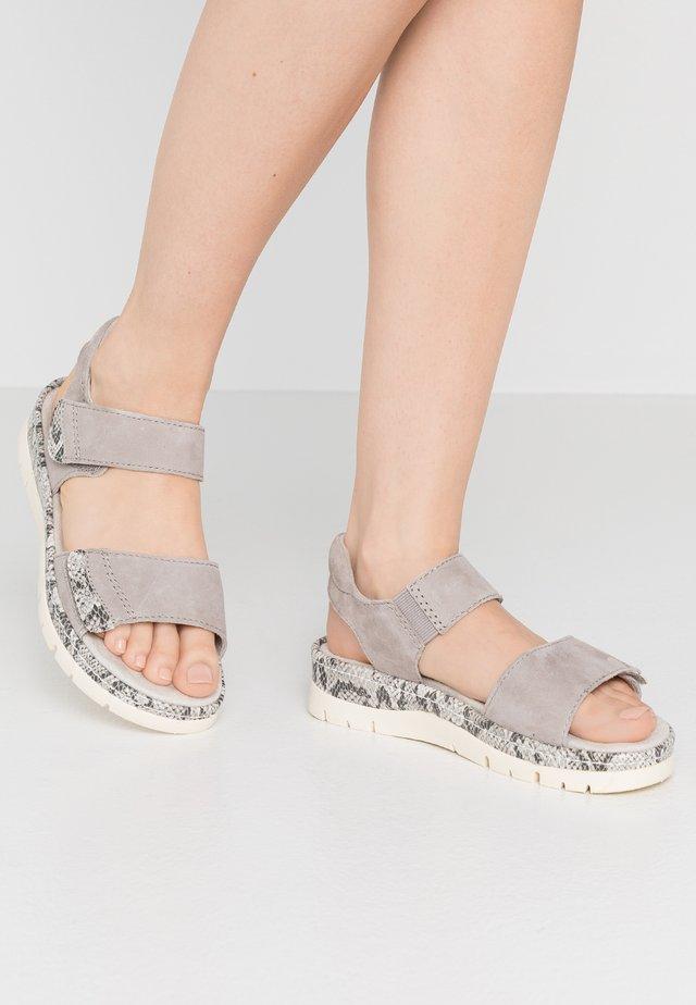 Sandalias con plataforma - light grey