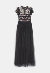 Needle & Thread - ROCOCO BODICE MAXI DRESS EXCLUSIVE - Společenské šaty - champagne/black - 7