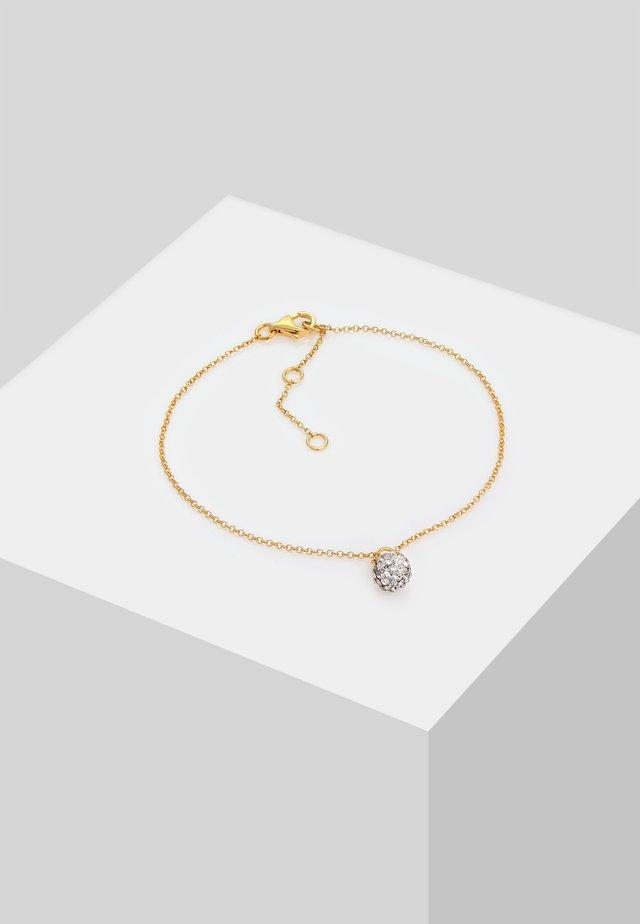 GLASS CRYSTAL - Armband - gold