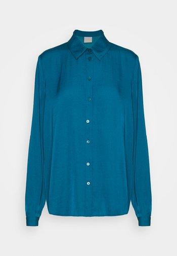 VIDREAMY - Button-down blouse - ink blue