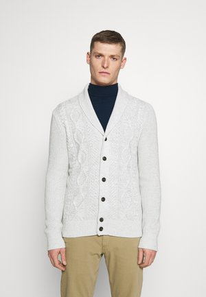 CABLE - Cardigan - light cream