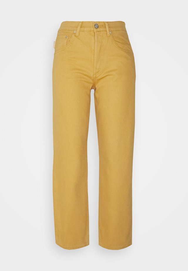 THE TIMMY HIGH RISE STRAIGHT  - Jeans straight leg - gold rush