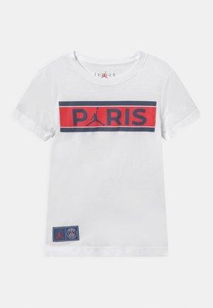 PSG BARS TEE - Klubové oblečení - white