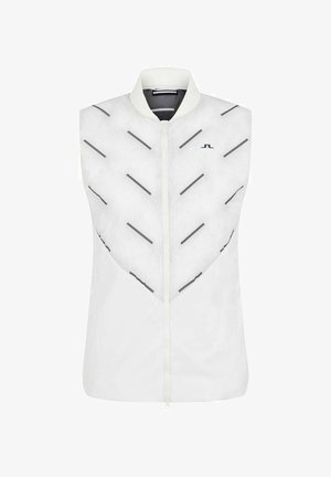 SHIELD HYBRID - Waistcoat - white