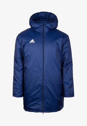 CORE 18 STADIUM ELEVEN FILLED - Waterproof jacket - dark blue / white
