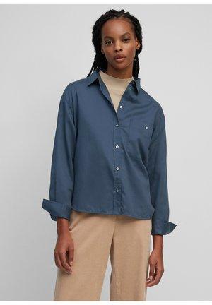 AUS ORGANIC  - Button-down blouse - breezy sea