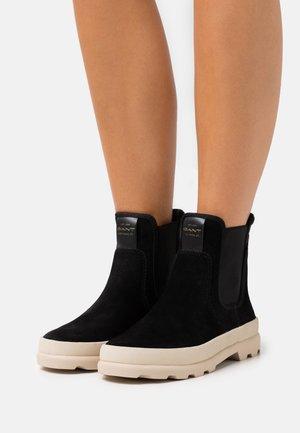 FRENNY - Kotníkové boty - black