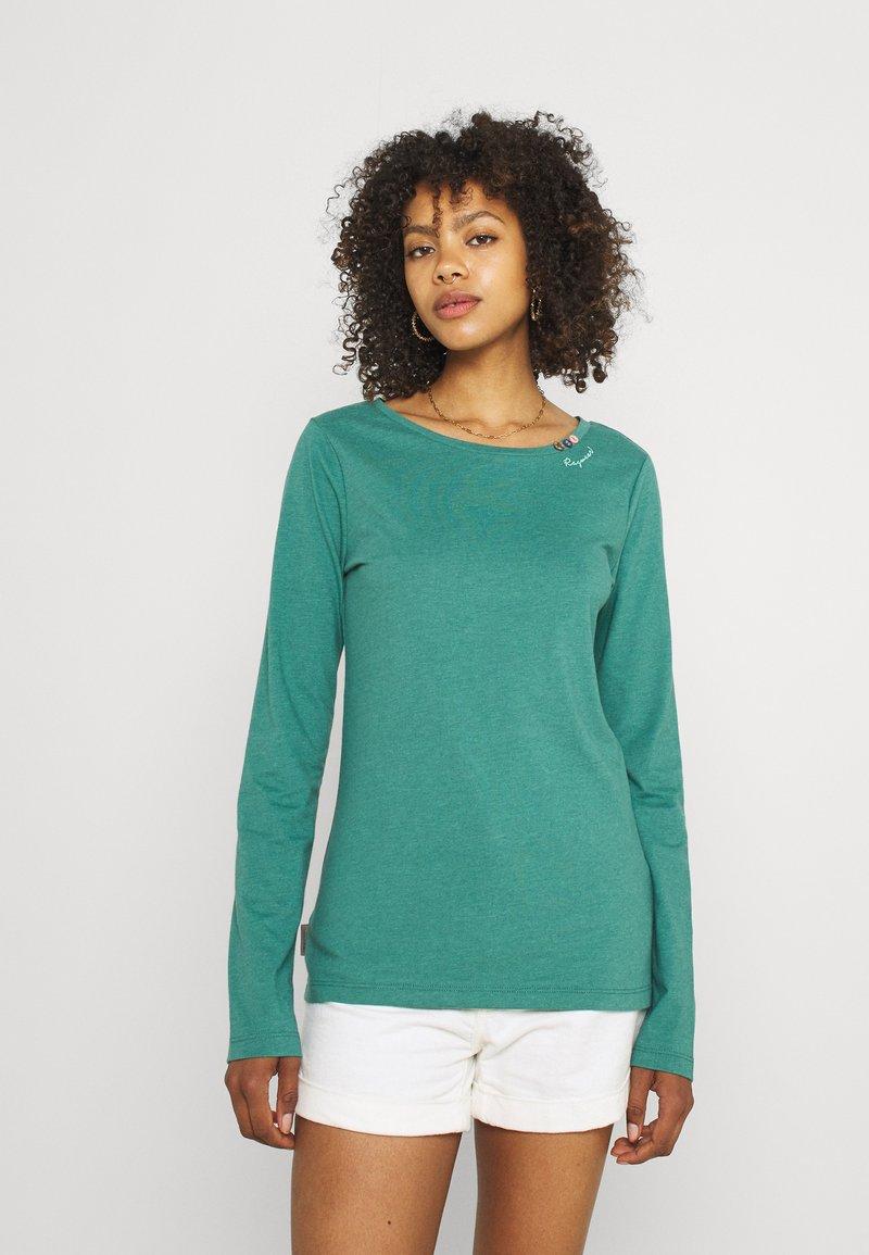 Ragwear - FLORAH LONG - Long sleeved top - dusty green