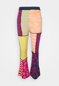 PLATEAUED FLARE - Trousers - multi