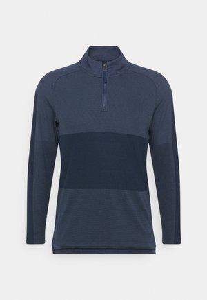 VAPOR HALFZIP - Sports shirt - obsidian/thunder blue/black