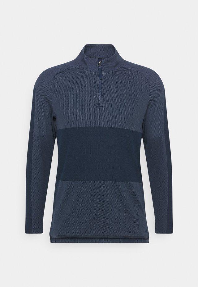 VAPOR HALFZIP - Sportshirt - obsidian/thunder blue/black