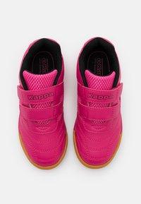 Kappa - KICKOFF - Sports shoes - pink/black - 3