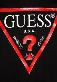 Guess - JUNIOR CORE - Camiseta estampada - jet black