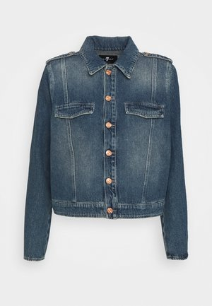 UNIFORM JACKET - Denim jacket - mid blue