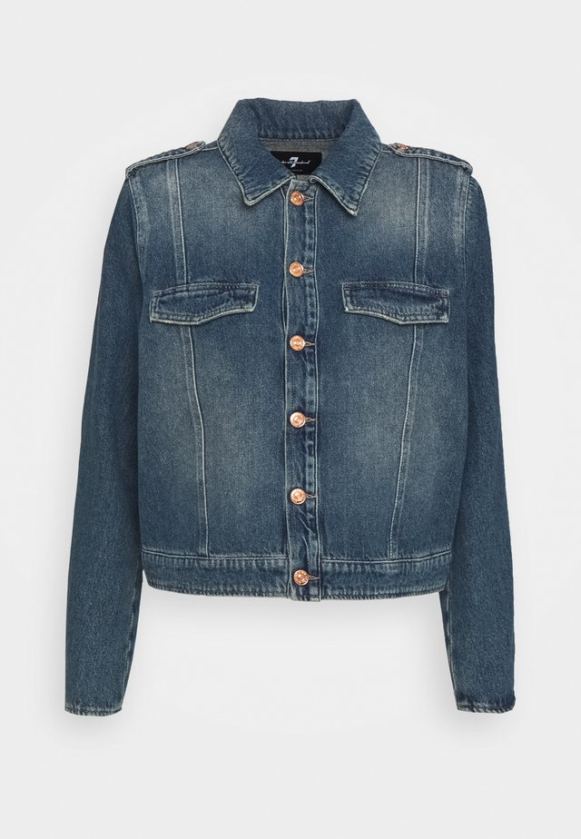 UNIFORM JACKET - Giacca di jeans - mid blue